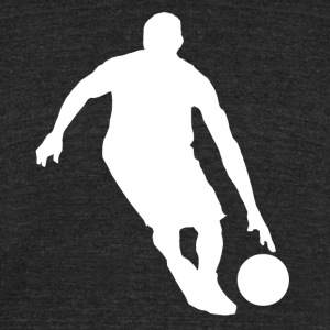 Basketball Player - Unisex Tri-Blend T-Shirt by American Apparel
