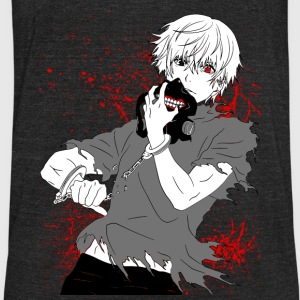 Tokyo Ghoul - Kaneki's Redemption (Black Version) - Unisex Tri-Blend T-Shirt by American Apparel