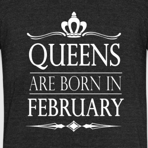 Queens Month - Unisex Tri-Blend T-Shirt by American Apparel