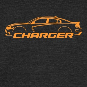 Go Mango Charger - Unisex Tri-Blend T-Shirt by American Apparel