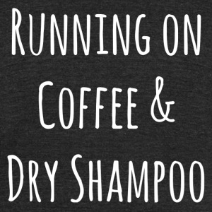 Coffee & Dry Shampoo - Unisex Tri-Blend T-Shirt by American Apparel