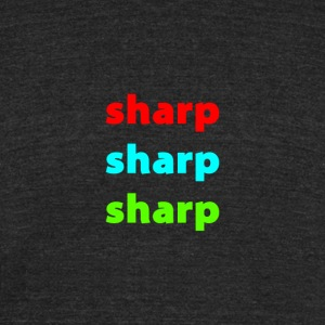Sharp Colors - Unisex Tri-Blend T-Shirt by American Apparel