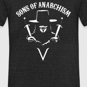 Sons of Anarchism - Unisex Tri-Blend T-Shirt by American Apparel