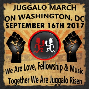 Juggalo March On Washington,DC 9-16-2017 - Unisex Tri-Blend T-Shirt by American Apparel