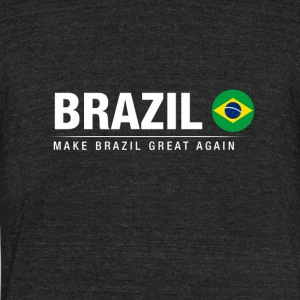 Make Brazil Great Again - Unisex Tri-Blend T-Shirt by American Apparel