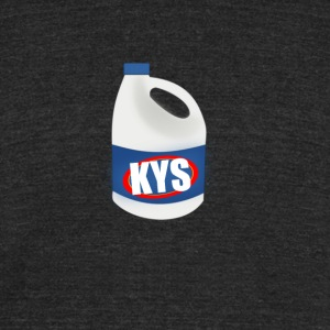 KYS Bleach Bottle - Unisex Tri-Blend T-Shirt by American Apparel