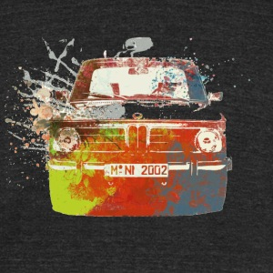 BMW 2002 - Unisex Tri-Blend T-Shirt by American Apparel
