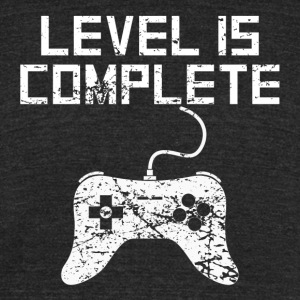 Level 15 Complete 15th Birthday - Unisex Tri-Blend T-Shirt by American Apparel
