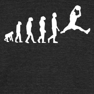 Basketball Evolution - Unisex Tri-Blend T-Shirt by American Apparel