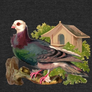 Pigeons and doves - Unisex Tri-Blend T-Shirt by American Apparel