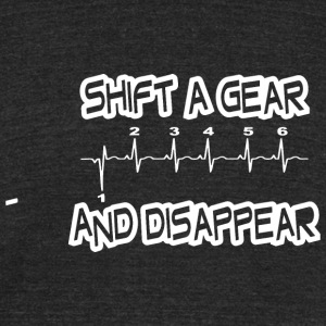 SHIFT A GEAR - Unisex Tri-Blend T-Shirt by American Apparel