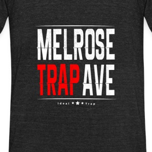 Melrose Trap - Unisex Tri-Blend T-Shirt by American Apparel