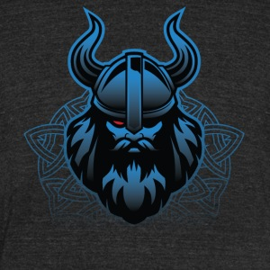 Night Of Odin - One - Unisex Tri-Blend T-Shirt by American Apparel