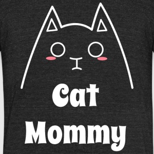 Love My Cat Mommy - Unisex Tri-Blend T-Shirt by American Apparel