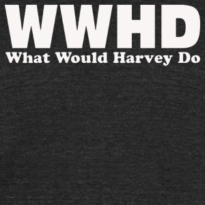 WWHD What Would Harvey Do - Unisex Tri-Blend T-Shirt by American Apparel