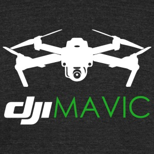 DJI MAVIC - Unisex Tri-Blend T-Shirt by American Apparel