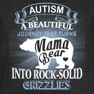 Mama Bear T Shirt - Unisex Tri-Blend T-Shirt by American Apparel
