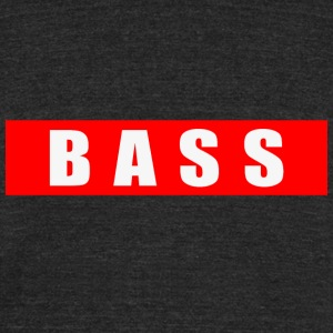B A S S - Unisex Tri-Blend T-Shirt by American Apparel