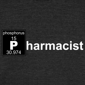 Chemistry Pharmacist - Unisex Tri-Blend T-Shirt by American Apparel