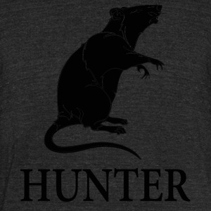 Rat Hunter - Unisex Tri-Blend T-Shirt by American Apparel