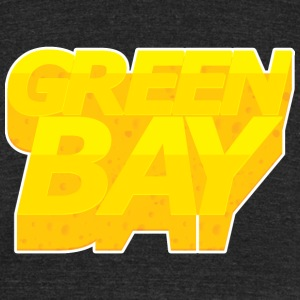 GREEN BAY - Unisex Tri-Blend T-Shirt by American Apparel