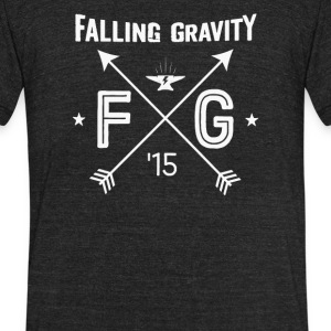 Falling gravity - Unisex Tri-Blend T-Shirt by American Apparel