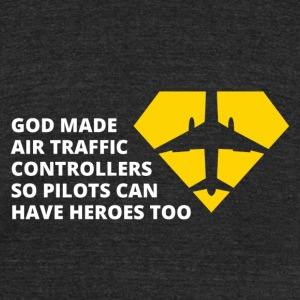 Air traffic Controllers - Unisex Tri-Blend T-Shirt by American Apparel
