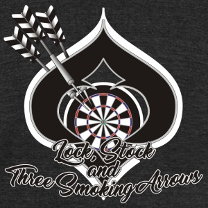 Lock, Stock and Three Smoking Arrows - Unisex Tri-Blend T-Shirt by American Apparel