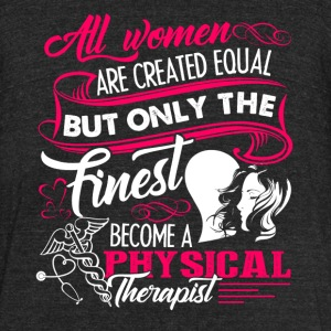 Physical Therapist Tee Shirt - Unisex Tri-Blend T-Shirt by American Apparel