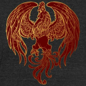 golden-rooster-sketch-2017-yer - Unisex Tri-Blend T-Shirt by American Apparel
