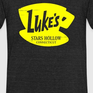 Luke s Diner - Unisex Tri-Blend T-Shirt by American Apparel