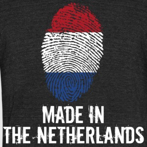 Made In The Netherlands / Nederland - Unisex Tri-Blend T-Shirt by American Apparel