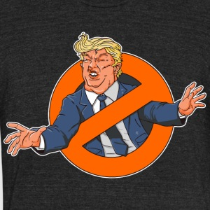 Trumpbusters - Unisex Tri-Blend T-Shirt by American Apparel