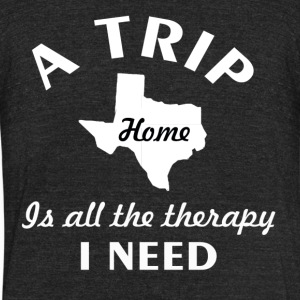 A trip to Texas - Unisex Tri-Blend T-Shirt by American Apparel