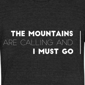 MOUNTAINSCALLING - Unisex Tri-Blend T-Shirt by American Apparel