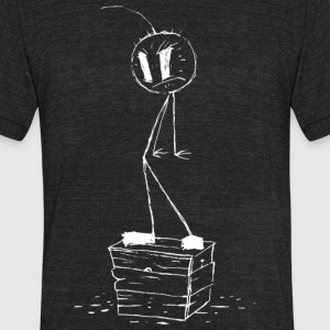 happy noodle boy - Unisex Tri-Blend T-Shirt by American Apparel