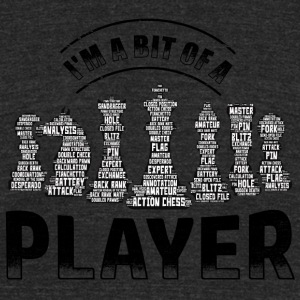 Chess Player - Unisex Tri-Blend T-Shirt by American Apparel