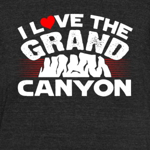 I Love The Grand Canyon Shirt - Unisex Tri-Blend T-Shirt by American Apparel