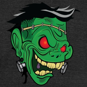 Frankenstein - Unisex Tri-Blend T-Shirt by American Apparel