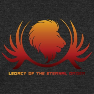 Legacy of the Eternal Order Merchandise Logo - Unisex Tri-Blend T-Shirt by American Apparel