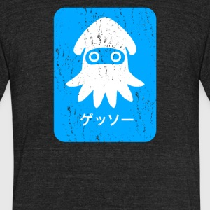 Blooper Blue - Unisex Tri-Blend T-Shirt by American Apparel