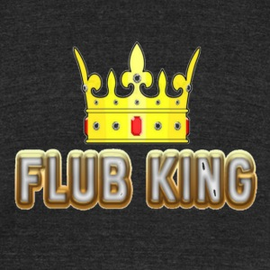 The Flub King (Series 2) - Unisex Tri-Blend T-Shirt by American Apparel