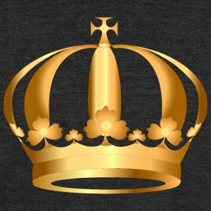 gold-crown-king - Unisex Tri-Blend T-Shirt by American Apparel