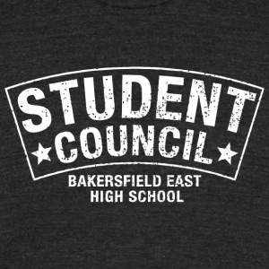 Student Council Bakersfield East High School - Unisex Tri-Blend T-Shirt by American Apparel