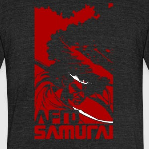 afro samurai - Unisex Tri-Blend T-Shirt by American Apparel