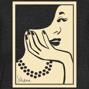 city girl - Unisex Tri-Blend T-Shirt by American Apparel