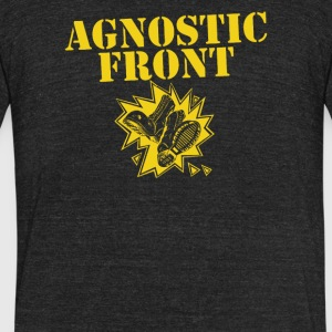 Agnostic front - Unisex Tri-Blend T-Shirt by American Apparel