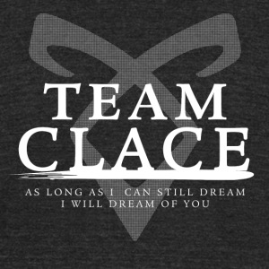 Shadowhunters - Team Clace - Unisex Tri-Blend T-Shirt by American Apparel