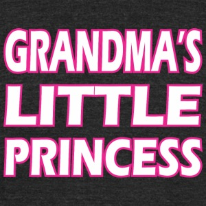 Grandmas Little Princess - Unisex Tri-Blend T-Shirt by American Apparel