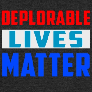 deplorables_lives - Unisex Tri-Blend T-Shirt by American Apparel